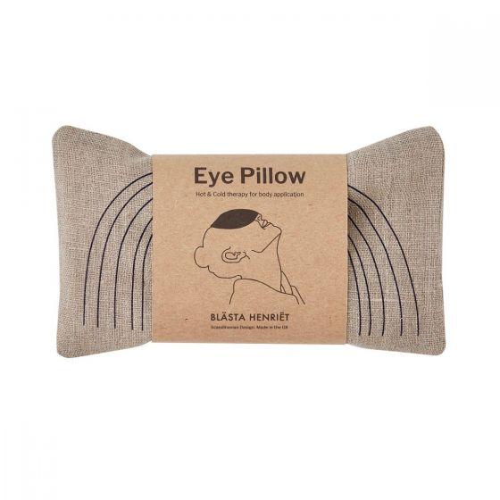 Blue Face Linen Eye Pillow – Yoga
