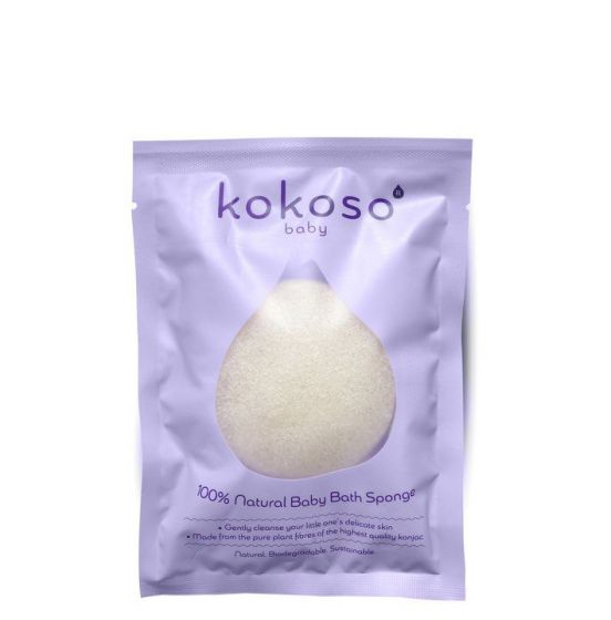 Organic Baby Bath Pillow Konjac