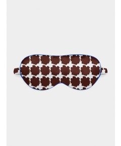 Silk Eye Mask - Blue Chocolate