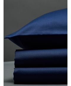 300 Thread Count Egyptian Cotton Sateen Duvet Set - Navy
