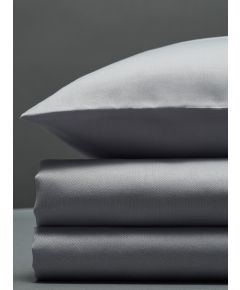 300 Thread Count Egyptian Cotton Sateen Duvet Set - Light Grey