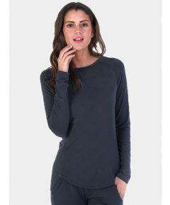 Women's Nattwell® Sleep Tech Long Sleeve Top - Deep Grey