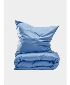 400 Thread Count Egyptian Cotton Sateen Duvet Set - Light Blue