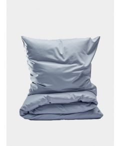 400 Thread Count Egyptian Cotton Sateen Duvet Set - Light Grey