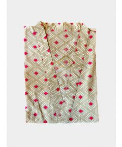 Block Printed Cotton Robe - Aarohi