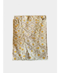 Block Printed Cotton Robe - Amaya