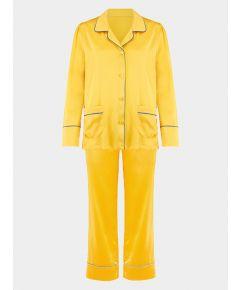 Girls Silk Pyjama Trouser Set - Amelie Honeybee