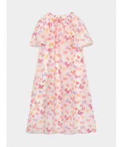 Girls Antonia Silk Nightdress – Butterflies