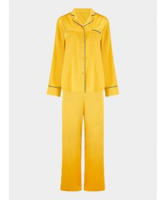 Women's Aurelie Honeybee Silk Pyjama Trouser - Set/Separate