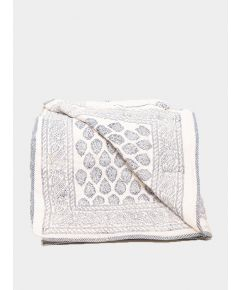 Quilted Cotton Throw - Vaani