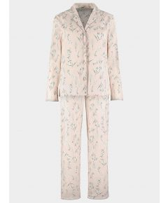 Organic Cotton Pyjama Trouser Set - Botanical Blush