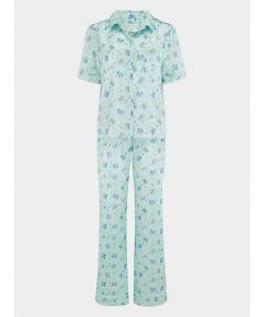 Women's Poppy Glacier Butterfly Silk Pyjama Trouser - Set/Separate