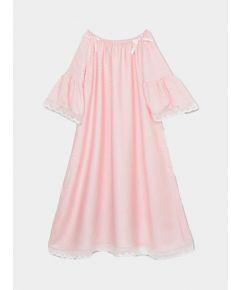 Girls Camelia Nightdress - Pink Polka Dots