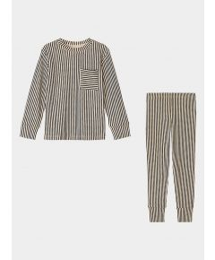 Children's Organic Pima Cotton Pyjamas - Stripe