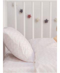 Cotton Cot Duvet Cover - Pink Elephant