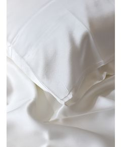 Silk Filled Pillow - White
