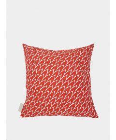 Leaf Cushions - Red