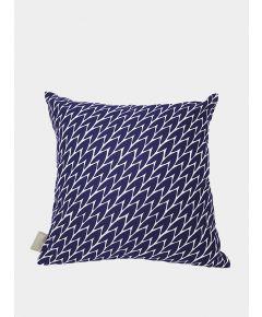 Leaf Cushions - Dark Blue