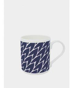 Leaf Mug - Dark Blue