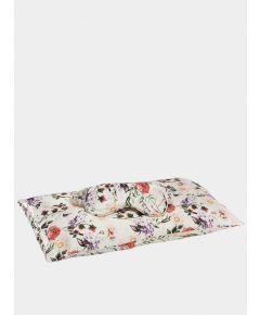 Jana Travel Set: Silk Pillowcase & Eye Mask - Ravello Florals