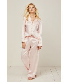Elisabetha Candy Rose Silk Pyjama Trouser - Set/Separate