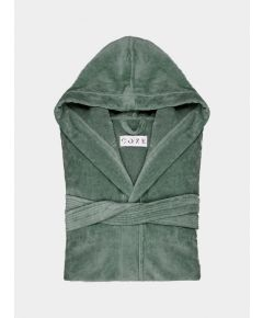 Sati Hooded Cotton Bathrobe - Spring