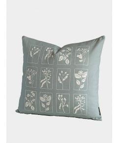Hedgerow Cushion, Soft Sage
