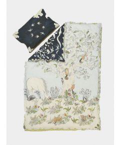 Organic Cotton Reversible Duvet Set - Enchanted Forest