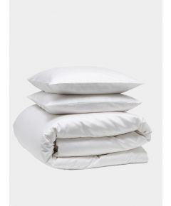 Luxe 300 Thread Count Cotton Bedding Bundle - Snow