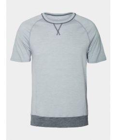 Mens Nattwarm® Sleep Tech T-Shirt - Light Grey