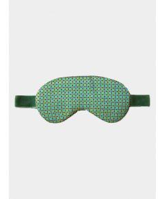 Silk Sleep Mask - Mint Dots