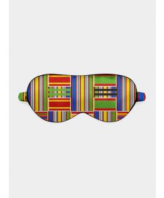 Silk Eye Mask - Kente