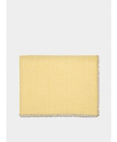 Hovingham Wool Throw - Mustard