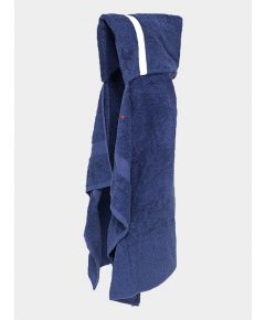 Hooded Cotton Towel - Navy