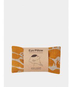 Orange Creature Linen Eye Pillow – Yoga and Body