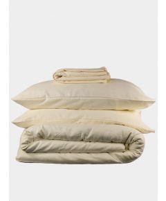 Linen & Bamboo Bedding Set - Oyster White