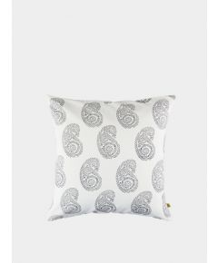 Anjuna Paisley Cushion Cover - Smokey Grey