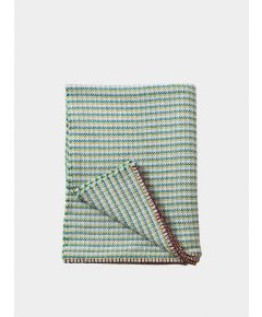 Merino Wool Large Blanket - Phoebe Green