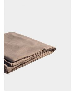 Linen & Bamboo Flat Sheet - Champagne Pink