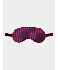 Silk Sleep Mask - Pink Dots