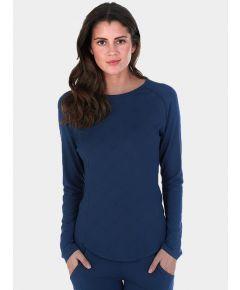 Women's Nattwell® Sleep Tech Long Sleeve Top - Midnight Blue