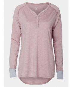 Women's Nattwarm® Sleep Tech Long Sleeve V-Neck Top - Pink