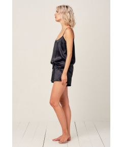 Midnight Black Thera Cami Pyjama Short - Set/Separate