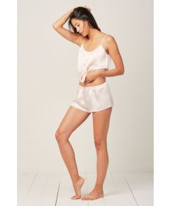 Champagne Rosé Thera Cami Silk Pyjama Short - Set/Separate