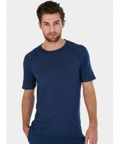 Mens Nattwell® Sleep Tech T-Shirt - Midnight Blue