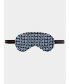 Silk Sleep Mask - Electric Dots