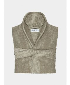 Kando Cotton Bathrobe - Stone