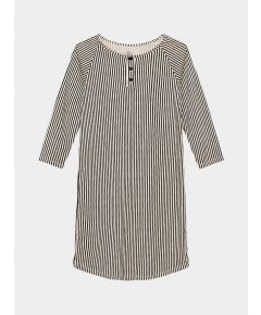 Children's Organic Pima Cotton Nightie - Stripe