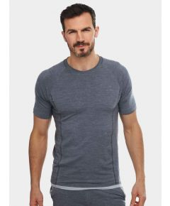 Mens Nattwarm® Sleep Tech T-Shirt - Dark Grey
