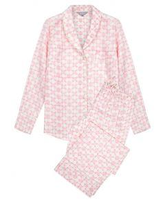 Mulberry Silk Pyjama Trouser Set - Jaipur Pink